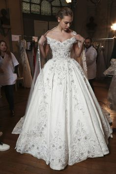 Tony Ward: I like the silhouette and sleeves but with less detail, more lace