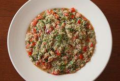 Quinoa Tabouli | recipe from Nutmeg Nanny