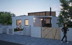 Návrh domu Trendy od APEX ARCH s.r.o. Garage Doors, Outdoor Decor, Home Decor, World, Decoration Home, Room Decor, Home Interior Design, Carriage Doors, Home Decoration