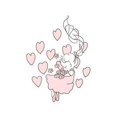 things to sketch Cute Little Drawings, Cute Kawaii Drawings, Kawaii Art, Kawaii Anime, Simple Illustration, Illustrations, Pastel Art, Grunge, Cute Images