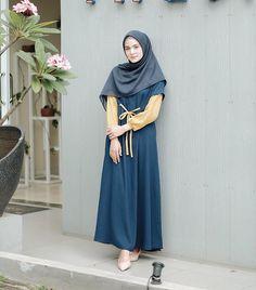 Hijab Style Dress, Modest Fashion Hijab, Muslim Fashion, Hijab Outfit, Hijab Casual, Modest Dresses, Modest Outfits, Elegant Dresses, Modest Clothing