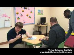 Verbal Behavior - Applied Behavior Analysis professional training - YouTube