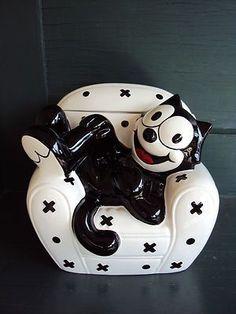Felix The Cat Cookie Jar: