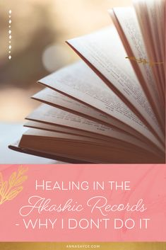 """Is there a reason you don't cover past life healing or """"clearing blocks and restrictions"""" in your Akashic Record Readings or in your online program? Past Life Regression, Healing Spells, Akashic Records, We Energies, Online Programs, Previous Life, Negative Thoughts, Healer, Trauma"""