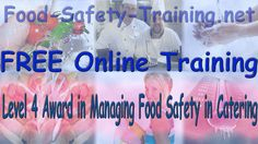 Level 4 Award in Managing Food Safety in Catering