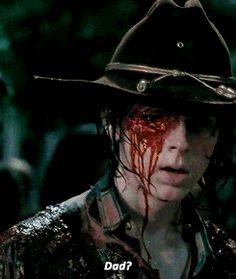 The Walking Dead Season 6 Episode 9 'No Way Out' Carl Grimes