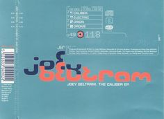 Joey Beltram - The Caliber EP (Warp, 1994)