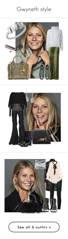 """""""Gwyneth style"""" by sofiacalo ❤ liked on Polyvore featuring Love, Le Kasha, Alexander McQueen, Marco de Vincenzo, Chanel, Saqqara, Tod's, Roland Mouret, RED Valentino and Yves Saint Laurent"""