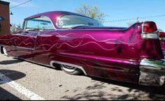 56 Cadillac Custom                                                       … 1959 Cadillac, Cadillac Ct6, Classic Hot Rod, Classic Cars, Ford Company, Gm Car, Lead Sled, Low Rider, Car Wrap