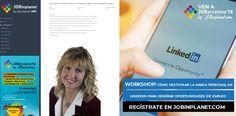 ¿Quieres gestionar tu #MarcaPersonal en LinkedIn para ser encontrado por los #reclutadores?  Asiste al #workshop que daré el 17 de #abril en JOBarcelona'18   Inscripción gratuita: http://jobarcelona.com  Congreso de empleo y #OrientaciónProfesional  con + 8.000 oportunidades profesionales, + 100 empresas + 90 conferencias y talleres  + 20.000 candidatos...  Sólo quedan 9 días!!!  ¿Te vienes?  cc JOBinplanet #JOBarcelona #BCN #CeliaHil #Empleo #RRHH #Barcelona #Trabajo