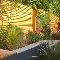 Western Red Cedar Slatted Screen Battens
