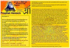 FIGU Bulletin 77   FIGU also informed me there is a corrected book (which you also mentioned) about Nokodemion now available (in German):  Die Geschichte Nokodemions, seiner Folgepersönlichkeit und ihrer Völker und die Voraussagen und Prophetien des Künders der Neuzeit ‹Billy›  Nokodemion's History, his subsequent personalities and his peoples and the predictions and prophecies of the herald of the new time 'Billy'  Also included in FIGU Bulletin 50:Clarification of the prophets Henok and…