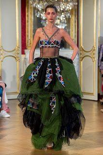 Patrick Pham at Couture Fall 2019 - Runway Photos Hemp Yarn, Fashion News, Fashion Events, Fashion Fashion, Haute Couture Fashion, School Fashion, Couture Dresses, High Waisted Skirt, Runway