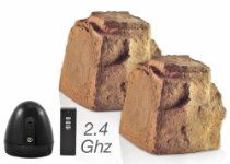 OSD Audio WR150 Wireless Outdoor 2.4GHz Rock Speaker Pair (Brown) Rock Speakers, Weather Rock, Outdoor Speakers, Listening To You, Your Music, Audio, Mp3 Player, Brown, Ipod