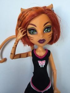 Monster High Toralei Doll Scream Uniform Cheerleader Fearleading Stripes   eBay