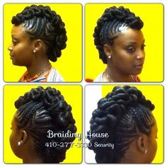Miraculous Twists Kinky Twists And Mohawks On Pinterest Short Hairstyles For Black Women Fulllsitofus