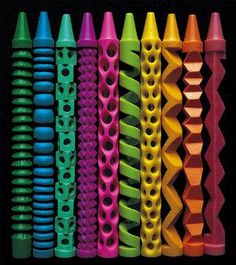 Awesome carved Crayons!