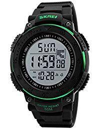 d113f5d506b3 ChenHui Moda Hombres de Cuenta Regresiva de electrónicos Relojes Cool Dos  Relojes de los Deportes al