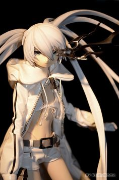 black rock shooter white edition | Flickr - Photo Sharing!