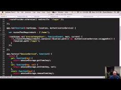 End to End with Angular JS - YouTube