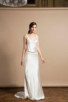 Robe de mariée Parfait, Delphine Manivet - EN IMAGES. Dix robes de mariée de la collection 2014 Delphine Manivet - L'EXPRESS