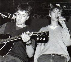 Damon Albarn and Graham Coxon