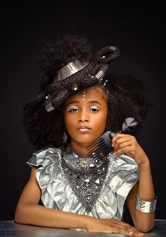 Black Girl Art, Black Girl Magic, Afro Hair Art, Natural Hair Styles, Short Hair Styles, Beautiful Black Babies, Simply Beautiful, Afro Style, Beauty And Fashion