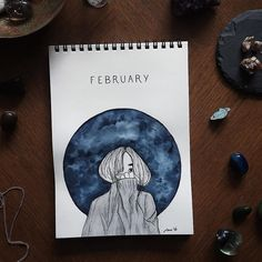 "Polubienia: 3,109, komentarze: 20 – Notebook Therapy (@notebook_therapy) na Instagramie: ""I can't believe it's the last couple of days of February  this magical February post is by…"""