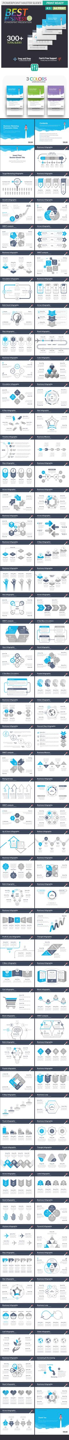 Best Business 002 - PowerPoint Template More