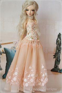 :: Crafty :: Doll :: Clothes :: Minifee dress | by venecja1