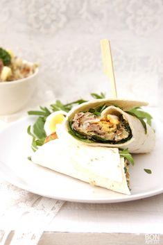 Waanzinnige wraps met gerookte makreelsalade!
