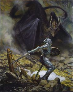 St George and the Dragon, by Donato Giancola