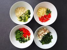 Mini omlete la cuptor in 4 feluri Palak Paneer, Ricotta, Broccoli, Grains, Rice, Ethnic Recipes, Diana, Baby Boy, Amp