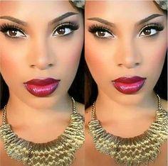 10 maquillages pour les yeux et peaux noirs ! 8