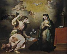 La Anunciación - Murillo, Bartolomé Esteban