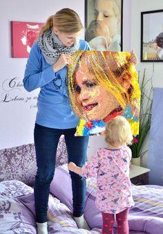 DIY: BÜGELPERLEN-PORTRAIT - Do It Yourself, Inspirationen - Baby, Kind und Meer
