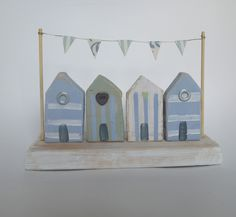 Handmade beach hut decoration