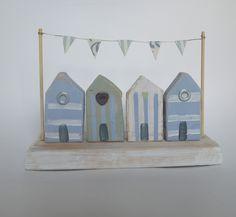 Handmade beach hut decoration
