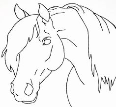 horse head drawing easy drawings draw step lineart horses coloring sketches heads deviantart yahoo pencil fikraborsasi tieremalen dibujos animal wickedbabesblog