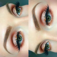 birthday eyeballs || recreated a look by the ever beautiful @alyssamarieartistry…