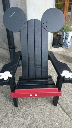 Mickey Mouse Adirdondack Chair