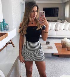 "1,917 Me gusta, 14 comentarios - MODA PRA MENINAS (@modaprameninasoficial) en Instagram: ""✨ look lindo! @gisartoo ⚫ #modaprameninas"""