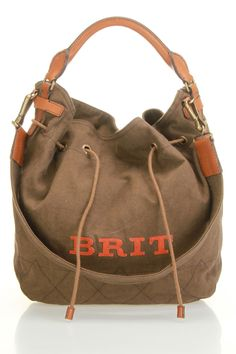 Burberry Medium Cambrose Hobo In Amber Brown - Beyond the Rack -- I usually don't like burberry products... but this purse and I developing a connection