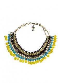 Zara Coloured Cord Necklace