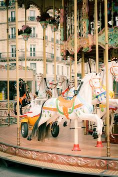 Carrousel à l'Hôtel de Ville