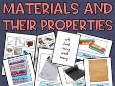Materials and their Properties Resource Pack by nicole_preston3   Teaching Resources