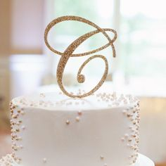 Cake Toppers for Wedding Letter Monogram Custom Script Letter Cake Topper for Party or Event Wedding Cake Personalized (Item - Letter Cake Toppers, Monogram Cake Toppers, Wedding Cake Toppers, Wedding Cakes, Wedding Cake Fresh Flowers, Wedding Letters, Wedding Photo Props, Wedding Photos, Glitter Cake