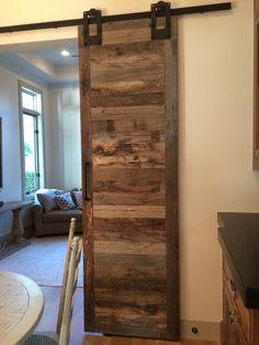 Wood sliding doors ❤️