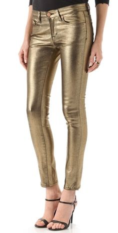 Washborn Gold Pants.  Good price and not as tight on the ankles.