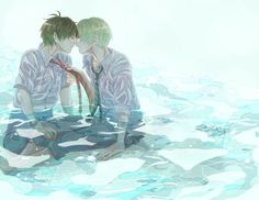 Okay, this is definetly the last Drarry ...water by turuko.deviantart.com...